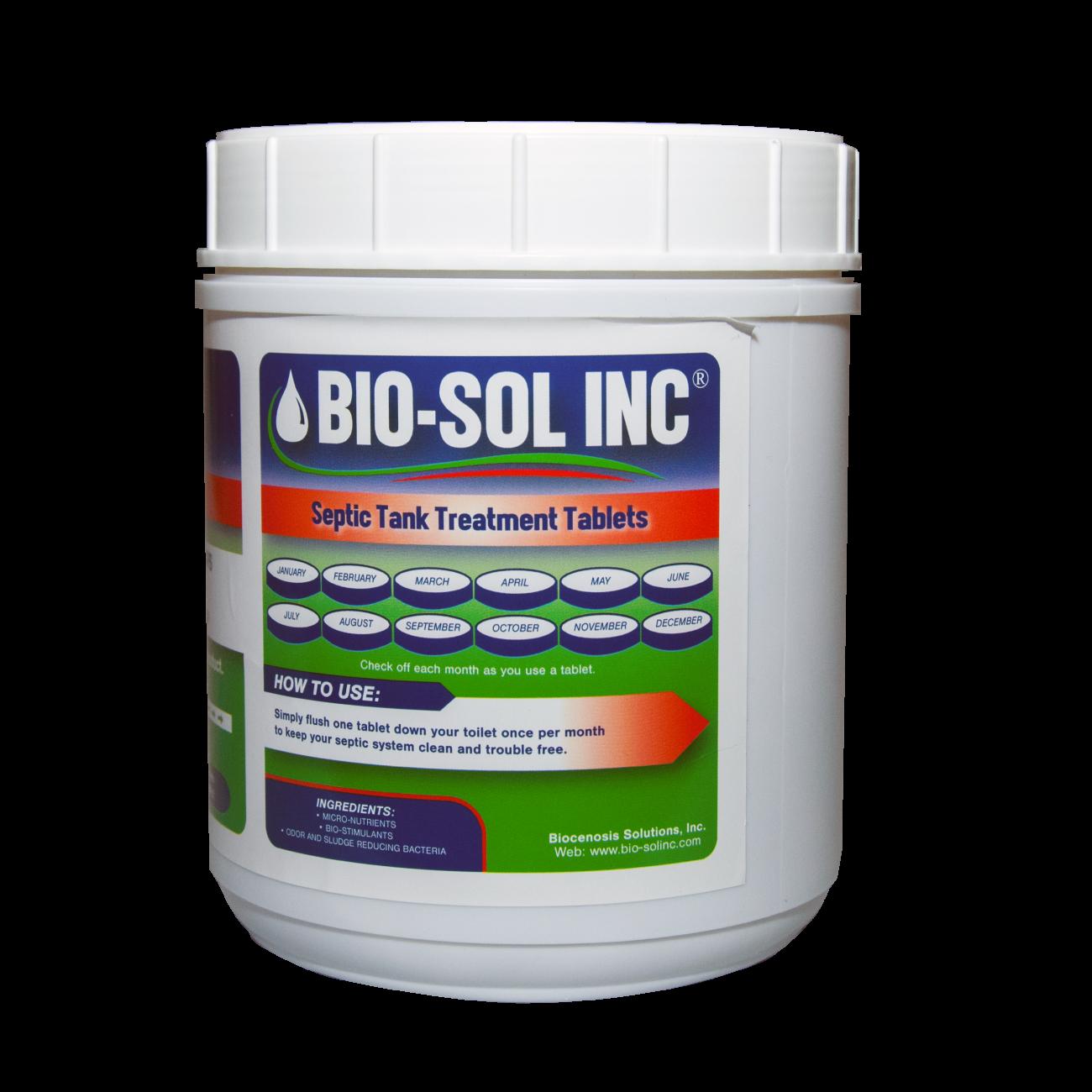 BIO-SOL INC - Septic Tank Treatment Tablets